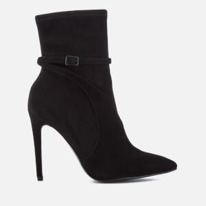 Kendall + Kylie Women's Autum Suede Heeled Shoe Boots - Black/Black