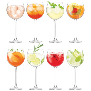 LSA Balloon Goblets - 525ml (Set of 8)