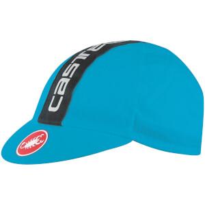 Castelli Retro 3 Cycling Cap - Sky Blue/Black