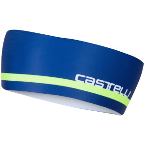 Castelli Arrivo 2 Thermo Headband - Ceramic Blue