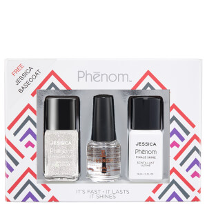 Jessica Phenom Precious Metals Gift Set - White Opal (Worth £34.95)