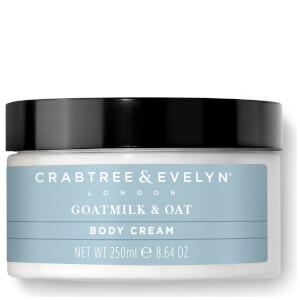 Crabtree & Evelyn Goatmilk & Oat Body Cream 250g