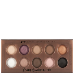 NYX Professional Makeup Dream Catcher Shadow Palette - Golden Horizons