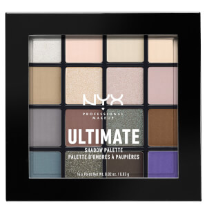 NYX Professional Makeup Ultimate Shadow Palette – Cool Neutrals