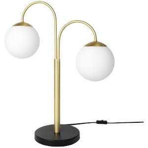 Broste Copenhagen Caspa Desk Lamp - Metal with Brass Finish