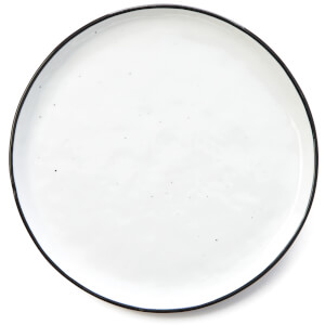 Broste Copenhagen Salt Side Plate - White (Set of 4)