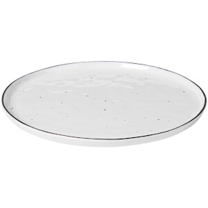 Broste Copenhagen Salt Dinner Plate - White (Set of 4)