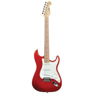 Chord CAL63M-MRD Electric Guitar with Maple Neck - Metallic Red