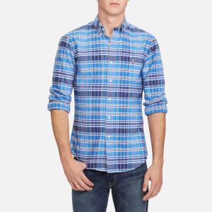 Polo Ralph Lauren Men's Oxford Slim Fit Long Sleeve Shirt - Blue/Navy