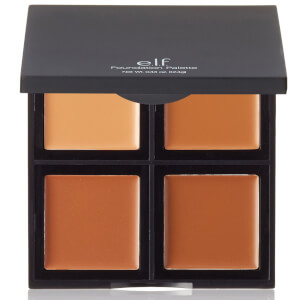 e.l.f. Cosmetics Foundation Palette Medium/Dark 12.4g