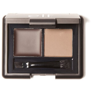 e.l.f. Cosmetics Gel & Powder Eyebrow Kit - Dark 2.3g