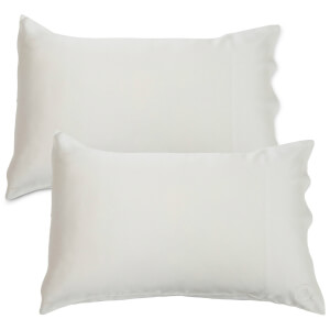 The Goodnight Co. Silk Pillowcase Twin Pack - Natural White