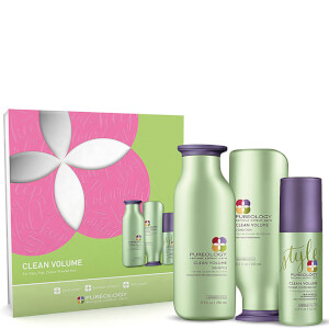 Pureology Clean Volume Christmas Gift Set (Worth £60.50)