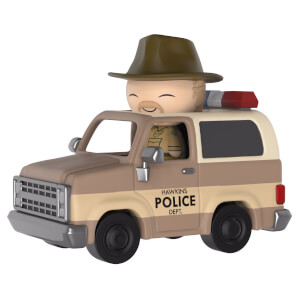 Stranger Things Hopper & Sheriff Deputy Truck Dorbz Ride Vinyl Figur