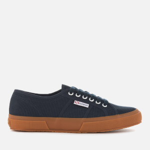 Superga Men's 2750 Cotu Classic Trainers - Navy/Gum