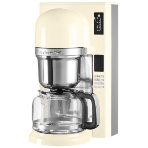 KitchenAid 5KCM0802BAC Pour Over Coffee Maker - Almond Cream