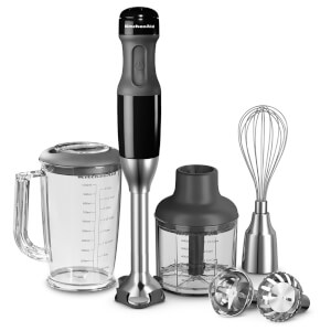 KitchenAid 5KHB2571BOB Corded Hand Blender - Onyx Black