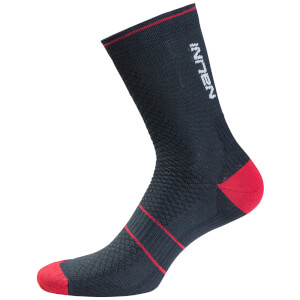 Nalini Gamma Compression Socks - Black/Red