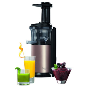 Panasonic MJ-L500NXC 150W Slow Juicer with Frozen Attachment - Gold