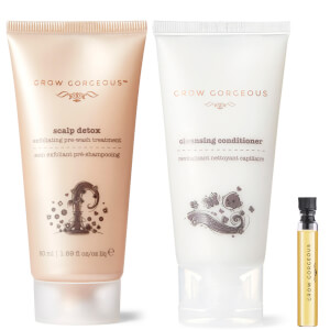 Grow Gorgeous 3 Free Treats (Travel Size Scalp Detox and Cleansing Conditioner, Oil Sample)