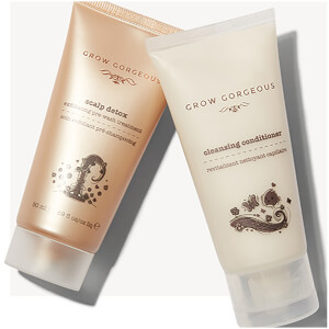 Grow Gorgeous 2 Free Treats (Travel Size Scalp Detox and Cleansing Conditioner)
