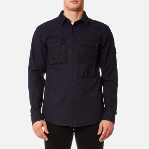 Marshall Artist Men's Micro Ripstop Overshirt - Navy