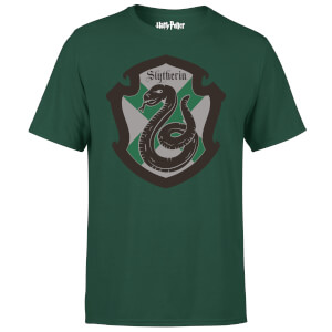 T-Shirt Harry Potter Serpeverde House Green