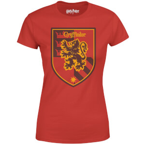 Harry Potter House Gryffindor Dames T-shirt - Rood