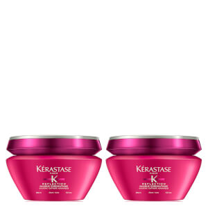 Dúo de mascarillas para cabello grueso Reflection Masque Chromatique de Kérastase (2 x 200 ml)