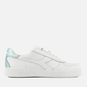 Diadora Women's B.Elite W Leather Cupsole Trainers - White