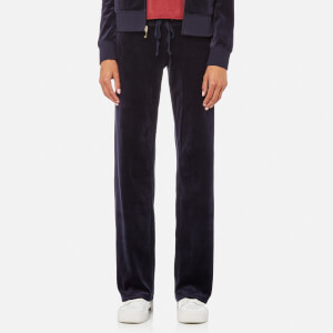 Juicy Couture Women's Velour Mar Vista Pants - Regal