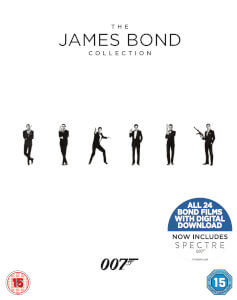 The James Bond Collection 24 films - Blu-Ray
