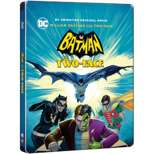 Batman Vs. Two-Face - Zavvi UK Exklusives Limited Edition Steelbook