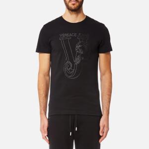 Versace Jeans Men's VJ Logo T-Shirt - Black