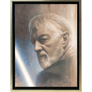 Lucasfilm Star Wars Timeless Series - Obi-Wan door Jerry Vanderstelt (Ingelijste Canvas)