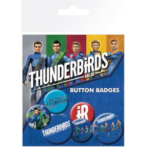 Thunderbirds Are Go International Rescue Badge Pack