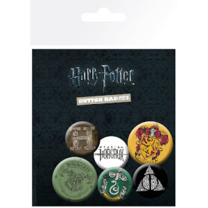 Harry Potter Mix Badge Pack