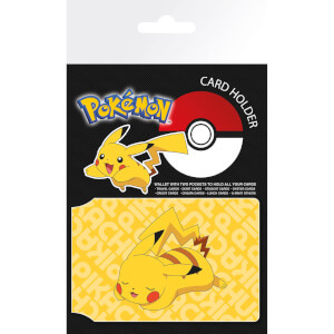Pokémon Resting Pikachu Card Holder