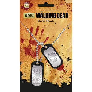 The Walking Dead Walker Dog Tag Pendant