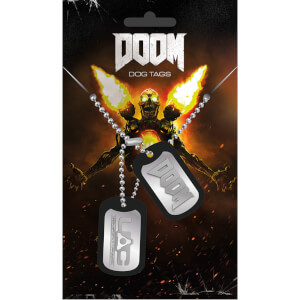Doom UAC Dog Tag Pendant