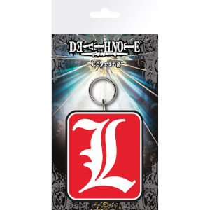 Death Note L Keyring