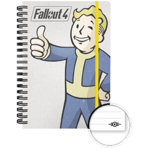 Fallout 4 Vault Boy A5 Notebook