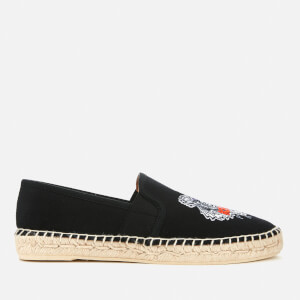 KENZO Women's City Tiger Logo Espadrilles - Black