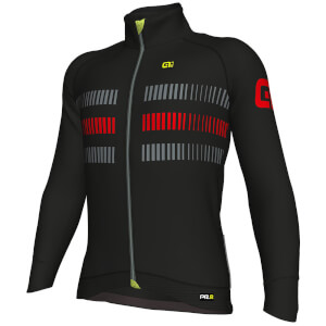 Alé PRR 2.0 Strada Jacket - Black/Red