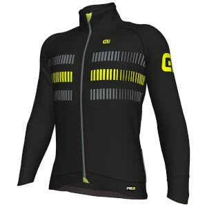 Alé PRR 2.0 Strada Jacket - Black/Yellow