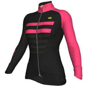 Alé Women's Piuma Jacket - Black/Pink