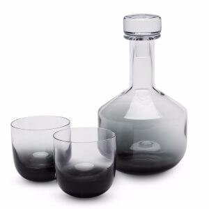 Tom Dixon Tank Whisky Set - Black