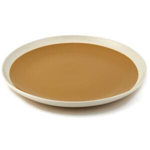 Nkuku Datia Dinner Plate - Mustard