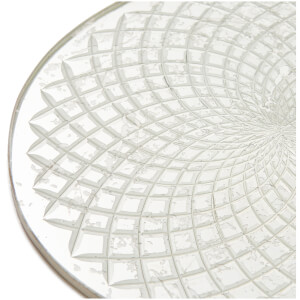 Nkuku Avani Etched Placemat - Antique Silver - Spiral: Image 5