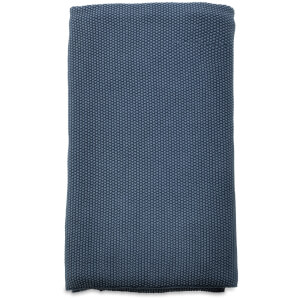 Nkuku Makani Cotton Throw - Washed Blue